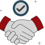 Primus Marketing Handshake Icon