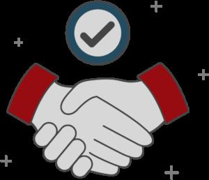 Primus Marketing Handshake Icon